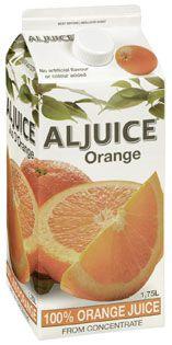 Aljuice Orange